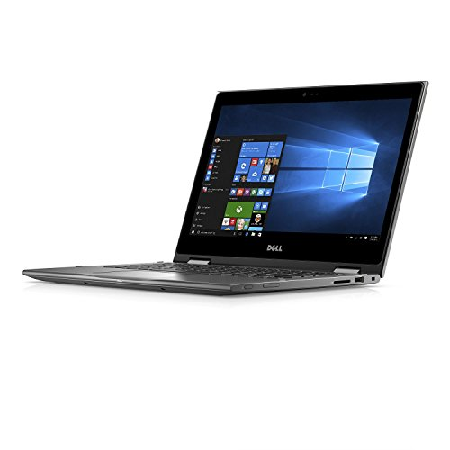 Dell Touchscreen 2-in-1 Inspiron 5000 Backlit Keyboard 13.3 inch Full HD Laptop PC, Intel Core i7-8550U Quad-Core, 8GB DDR4, 256GB SSD, WIFI, Media Card Reader, Windows 10