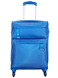Skybags Polyester 58.5 cms Blue Softsided Cabin Luggage (Skysurf-X),Vip Industries Ltd,Skysurf-X