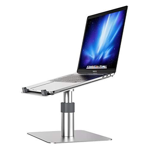 Newaner Laptop ständer,Aluminum,Halter Stand Halterung erhöhung Holder Schreibtisch höhenverstellbar 360 °drehbarer,Kompatibel für Notebook(10-16 Zoll), einschließlich MacBook Pro/Air Surface usw
