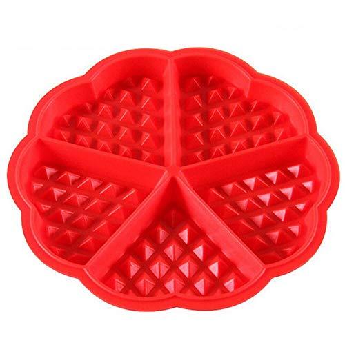 Selecto Bake - Silicone Waffles Pan Cake Baking Mould