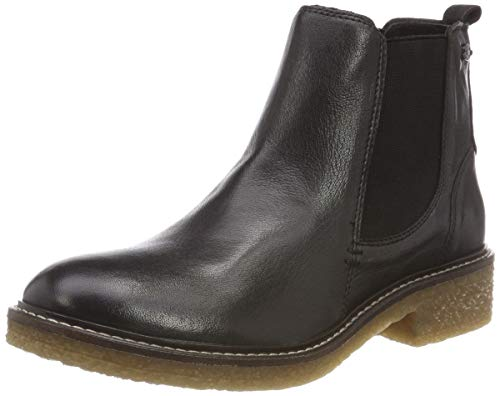 camel active Damen Palm 74 Chelsea Boots, Schwarz (Black 3), 40 EU (6.5 UK)
