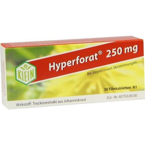 HYPERFORAT 250 mg Filmtabletten 30 St