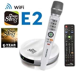 $329 » NEW E-2 WIFI Magic Sing Karaoke Wireless Mic 12,000 English +1 Year Subscription for Tagalog Hindi Spanish Russian Vietnamese Japanese Korean songs & more