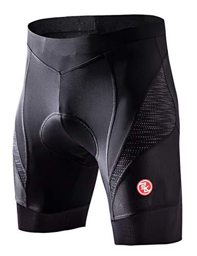 Souke Sports サイクルパンツ メンズ 4Dパッド 痛み軽減 吸汗速乾 自転車パンツ 軽量通気 再帰反射 サイク...