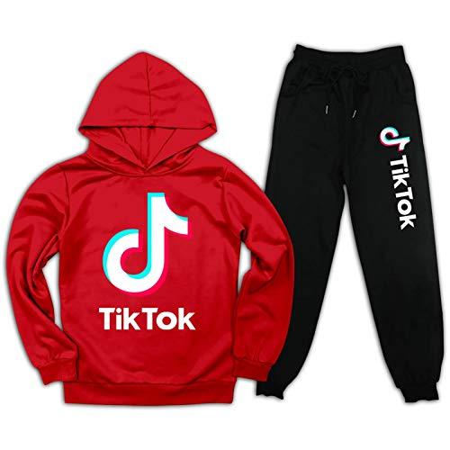 TIK-tok - Sudadera con capucha para niños y niñas