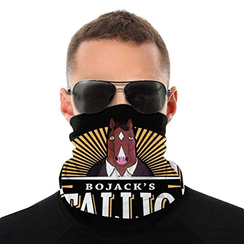 BoJack Horseman Hengst bier-soort, hoofddoek, gezichtsbescherming, magische hoofddoek, nek, gaiter, gezichtsmasker, bandana, sjaal