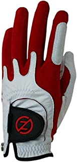 Zero Friction Men's Cabretta Premium Leather Golf Gloves, Universal Fit One Size