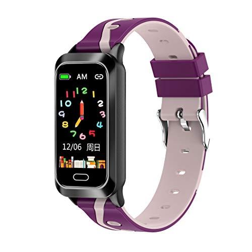 MMTek Kids - Pulsera Actividad Infantil, Deportiva, Unisex niños y niñas, Reloj Inteligente, con podómetro, Registro de Actividad, sueño y calorias, Impermeable IP67, pulsómetro, para Android y iOS