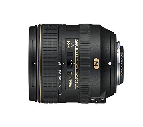 Nikon AF-S DX NIKKOR 16-80mm f/2.8-4E ED Vibration Reduction Zoom Lens with Auto Focus for Nikon DSLR Cameras