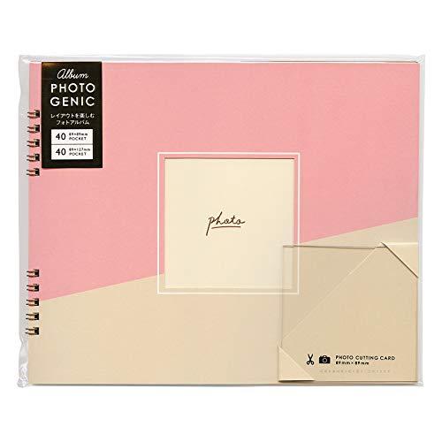 ALBUM PHOTOGENIC ましかくアルバム Mサイズ【ピンク】 GAM-01