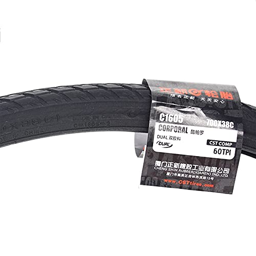 LHYAN 700 * 35C/38C,26 * 1.5 Tire,Wear-Resistant,60 TPI for Mountain Touring Bicycle Tires,700 * 38