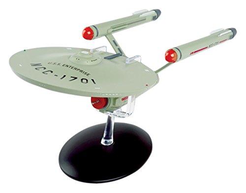 Eaglemoss 28cm Star Trek u.s.s Enterprise ncc-1701Ship Die-Cast Toy