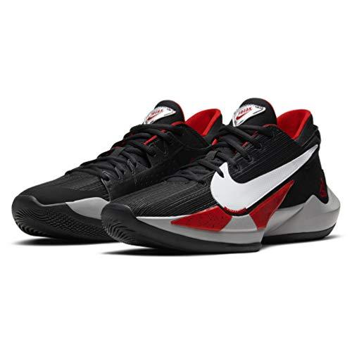 Nike Zapatos Hombre Zoom Freak 2 Blanco Cement CK5424-100, negro (negro, blanco, rojo (Black/White-University Red)), 42 EU