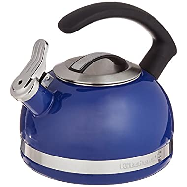 KitchenAid KTEN20CBDB 2.0-Quart Kettle with C Handle and Trim Band - Doulton Blue