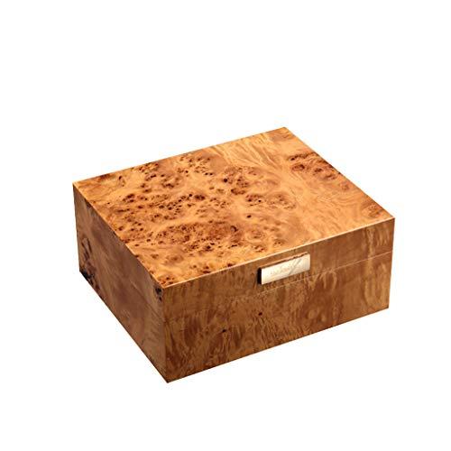 BJL-Cigar Box für Zigarren, feuchtigkeitsspendend, Farbe für Klavier aus Zedernholz, hohe Luftbefeuchter A