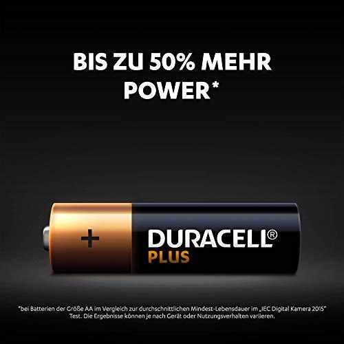 Sony XDR-S41D Digitalradio (DAB+, FM, RDS, Wecker) & Duracell Plus AA Mignon Alkaline Batterien LR6, 20er Pack
