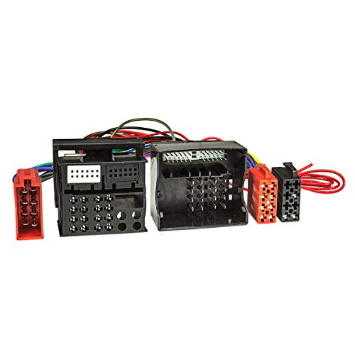 tomzz Audio 7303-003 T-Kabel ISO (40 Kabel) kompatibel mit VW, Skoda, Seat, zur Einspeisung von Freisprecheinrichtung ISO Verstärker für THB Parrot Dabendorf i-sotec Match