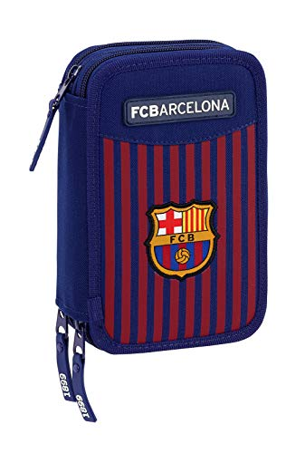 FCB FC Barcelona plumier Triple