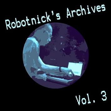 Robotnick's Archives Vol.3