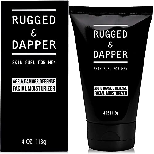 RUGGED & DAPPER Age + Damage Defense Facial Moisturizer | Dual Purpose...
