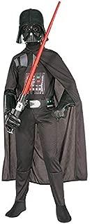 Rubie's Star Wars Child's Darth Vader Costume, Medium, Black, Medium