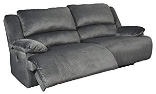 Signature Design by Ashley Clonmel 2-Seat Reclining Sofa Charcoal (B07SHJ13MV) | Amazon price tracker / tracking, Amazon price history charts, Amazon price watches, Amazon price drop alerts