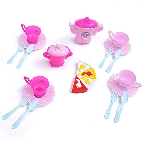 TOYMYTOY Tee-Set Spielzeug Kinder Mädchen Teeservice Kaffeeservice Küche Spielset