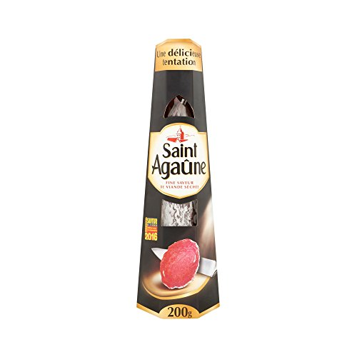 SAINT AGAUNE SPECIALITE DE SAUCISSON SEC - 200 G