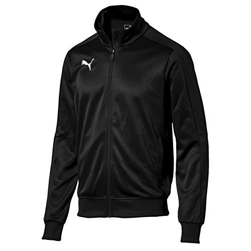PUMA Herren Liga Casuals Tracktop Jacke, Black White, XL