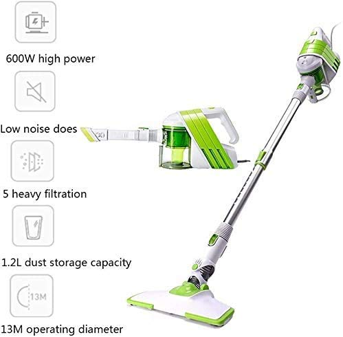 Great Deal! Vertical Hand-held Vacuum Cleaner, Small Household Wi Push Rod Portable Vacuum Cleaner f...