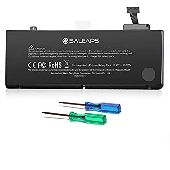 Saleaps A1322 A1278 Replacement Battery - for MacBook Pro13 inch Mid 2009 2010 2012 Early & Late 2011,Fit for MacBook Pro Battery 10.95V/63.5Wh