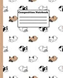 Composition Notebook: french bulldog | Wide Ruled Paper Notebook Journal | Nifty Wide Blank Lined Workbook for Teens Kids Students Girls for Home School for the office