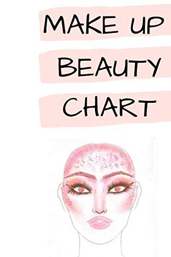 Mon carnet MAKEUP ARTIST FACE CHART - Croquis de visages: Carnet pour s'entrainer et...