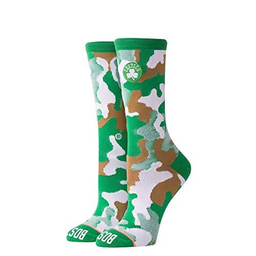 Stance Women's Celtics Crew W Socks,Small,Green