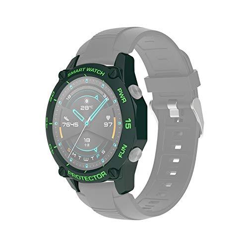 DaiMai Para Huawei Watch GT2e 46mm Smart Watch TPU Funda protectora,Color: Verde Ejército+Verde Hierba WH