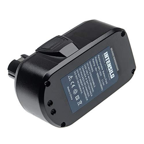 INTENSILO Batería recargable compatible con Ryobi P2060, P208B, P210, P2100, P2102, P2105, P211, P220 herramientas eléctricas (6000 mAh Li-Ion 18 V)
