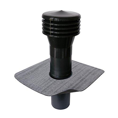Klöber Flavent Flachdach Raumentlüfter Abwasserbelüfter DN 150 Bitumen-Anschluss