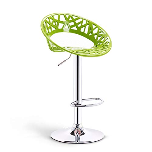 Grün und Chrome Swivel Bar Küche Frühstück Stühle Stuhl von Lavin Lifestyle LI Jing Shop (größe : Base diameter38.5cm)