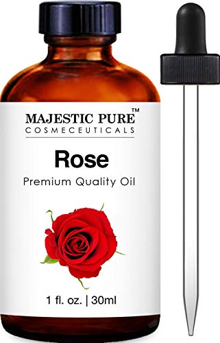 Majestic Pure Rose Oil Premium Quality Fragrance Oil 1 Ounces