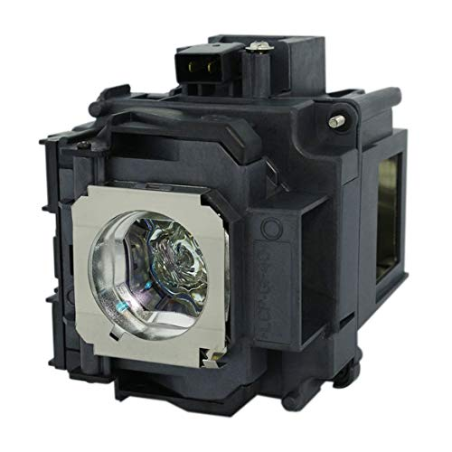 GOLDENRIVER EP76 Premium Quality Replacement Projector Lamp with Housing Equal to OEM Quality Compatible with ELPLP76 PowerLite Pro G6050W G6050WNL G6150 G6150NL G6450WU G6450WUNL G6550WU G6550WUNL