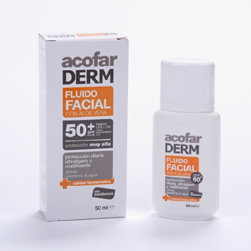 ACOFARDERM - ACOFARDERM FLUIDO FAC 50+50ML