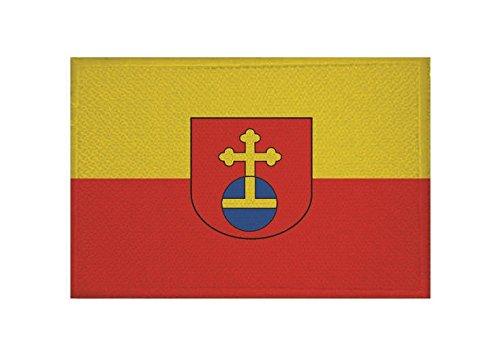 U24 Aufnäher Eppelheim Fahne Flagge Aufbügler Patch 9 x 6 cm