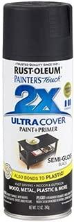 Rust-Oleum 249061 Painter's Touch Multi Purpose Spray Paint, 12-Ounce, Black