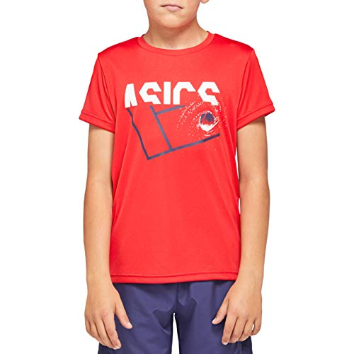 ASICS Unisex Kinder Tennis B Kids GPX T Unterhemd, Classic Red, XS