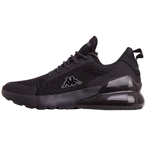 Kappa Unisex-Erwachsene Colp OC Sneaker, Schwarz (Black 1111), 36 EU