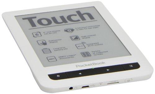 Pocketbook Touch 622 15,2 cm (6 Zoll) eBook Reader (800MHz, 2GB Speicher, microSD-Karte, Text-to-Speech) weiß/schwarz