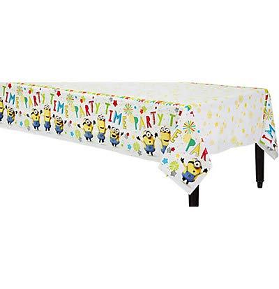 ILS I LOVE SHOPPING Tovaglia 120 x 180 cm per Festa Compleanno (Minions The Rise of Gru, Tovaglia)