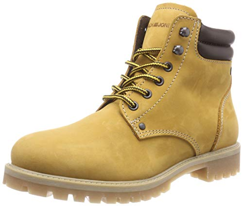 JACK & JONES Jfwstoke Nubuck Boot Honey Noos, Botas Clasicas para Hombre,...