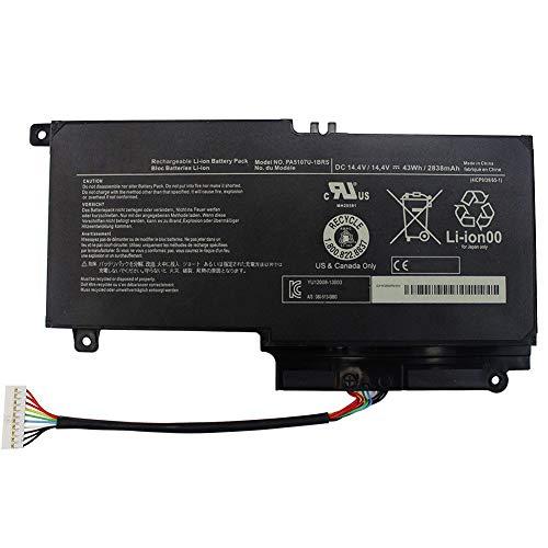XITAIAN 14.4V 43Wh PA5107U-1BRS P000573240 Ersatz Laptop Akku für Toshiba L45D L50 L55 P55 L55t P50 Series P55-A5312 P55-A5200 P55T-A5116 S50D-A L50-A S50T-A116 S55-A5275