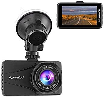 Annkoo AD01 Car DVR HDR Dashboard Camera (Black)